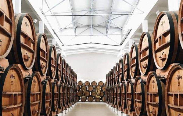 Použité sudy ke stárnutí brandy KVINT