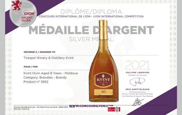 Ocenění pro KVINT ve Francii 2021